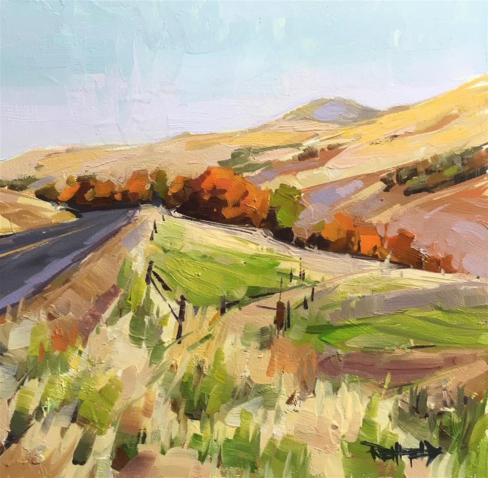 """Desert Colors"" original fine art by Cathleen Rehfeld"