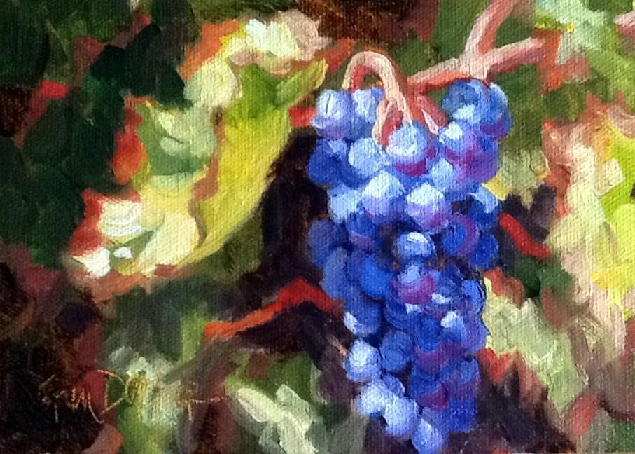 """""""Colorful Cluster"""" original fine art by Erin Dertner"""