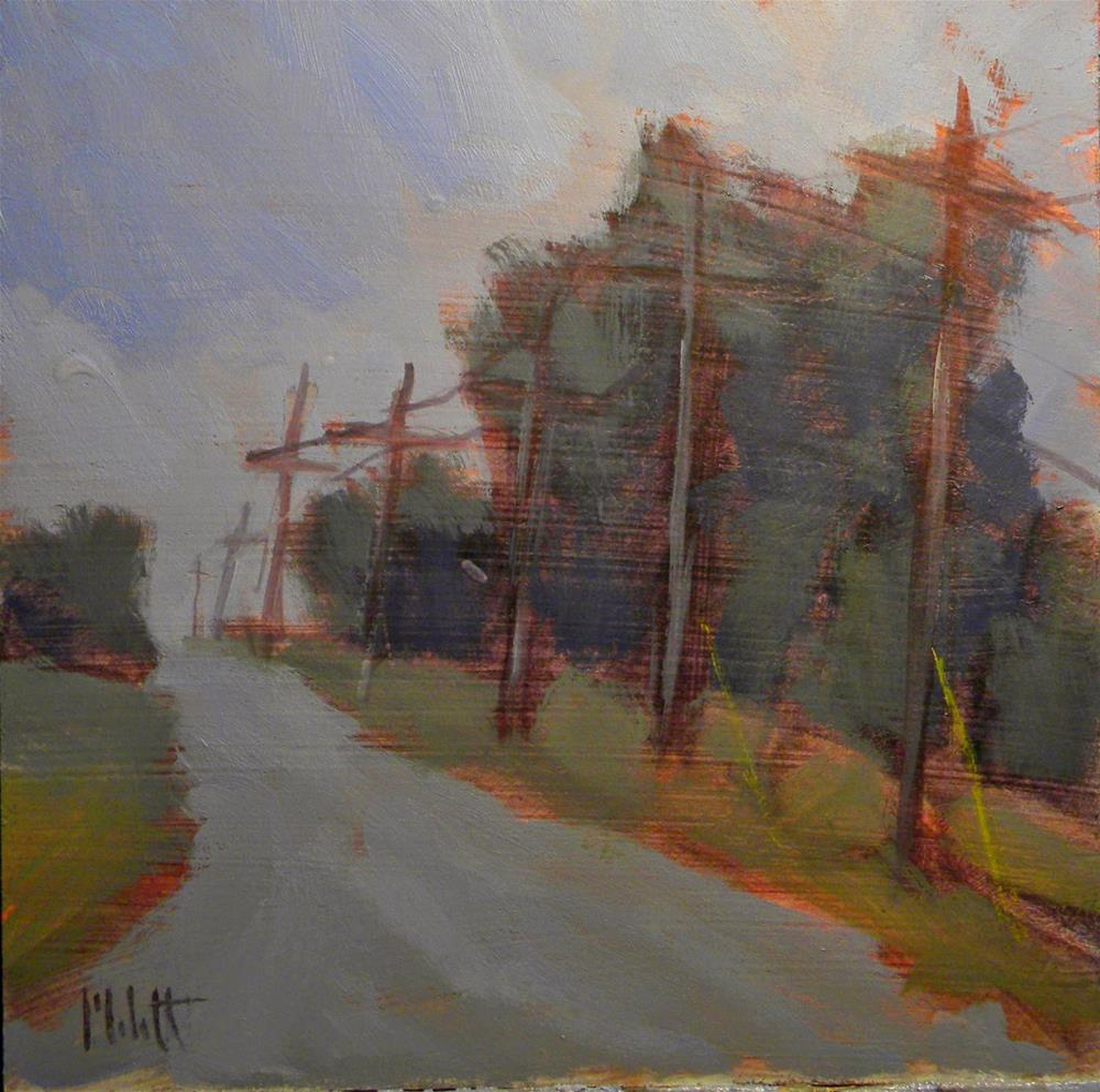 """Driving To You Everyday Paintings Everyday Places Original Art"" original fine art by Heidi Malott"