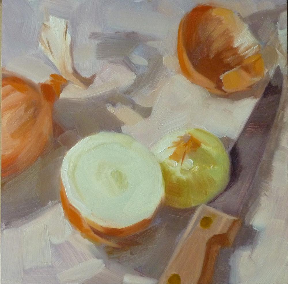 """""""Slice & Peal"""" original fine art by Ron Ferkol"""