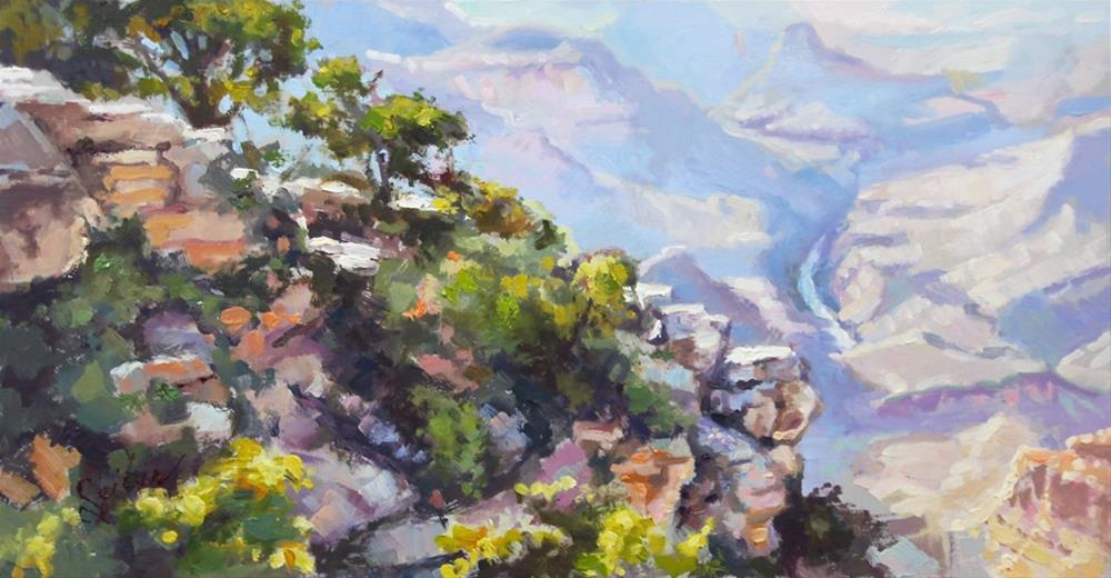 """Canyon Rim"" original fine art by Larry Seiler"
