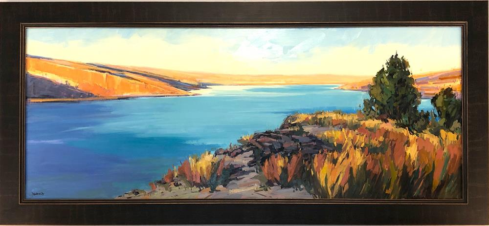 """Gorge View"" original fine art by Cathleen Rehfeld"