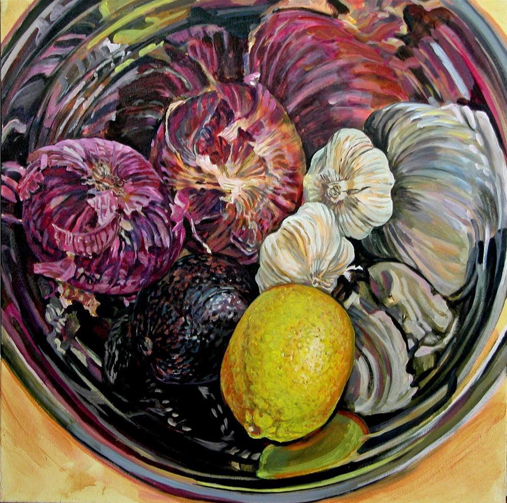 """""""Kitchen Jewels"""" original fine art by Nicoletta Baumeister"""