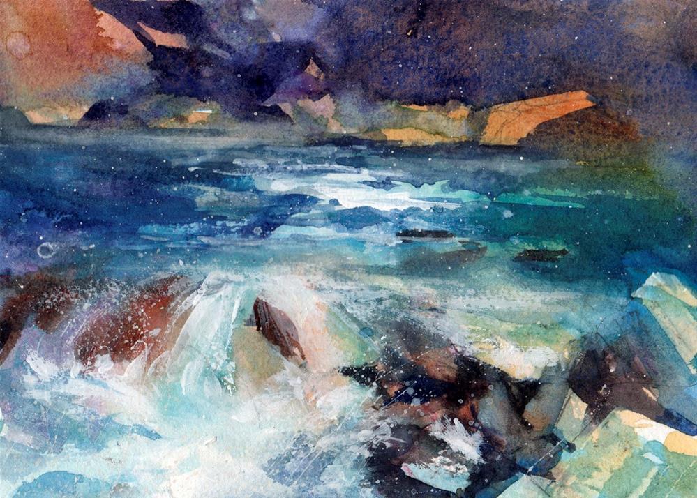 """Ever Changing"" original fine art by Linda Henry"