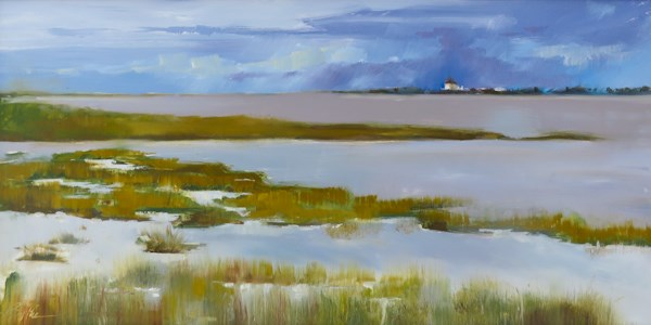 """Tom's Cove"" original fine art by Beth Bathe"
