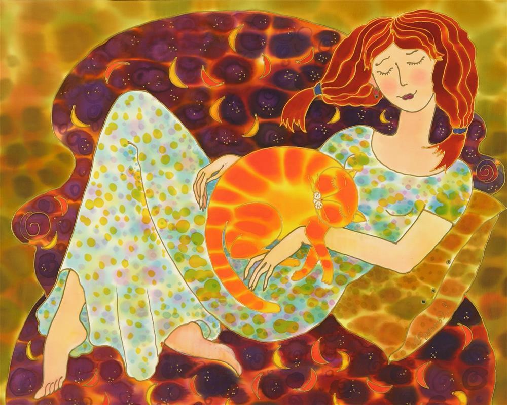 """Day Dream"" original fine art by Yelena Sidorova"