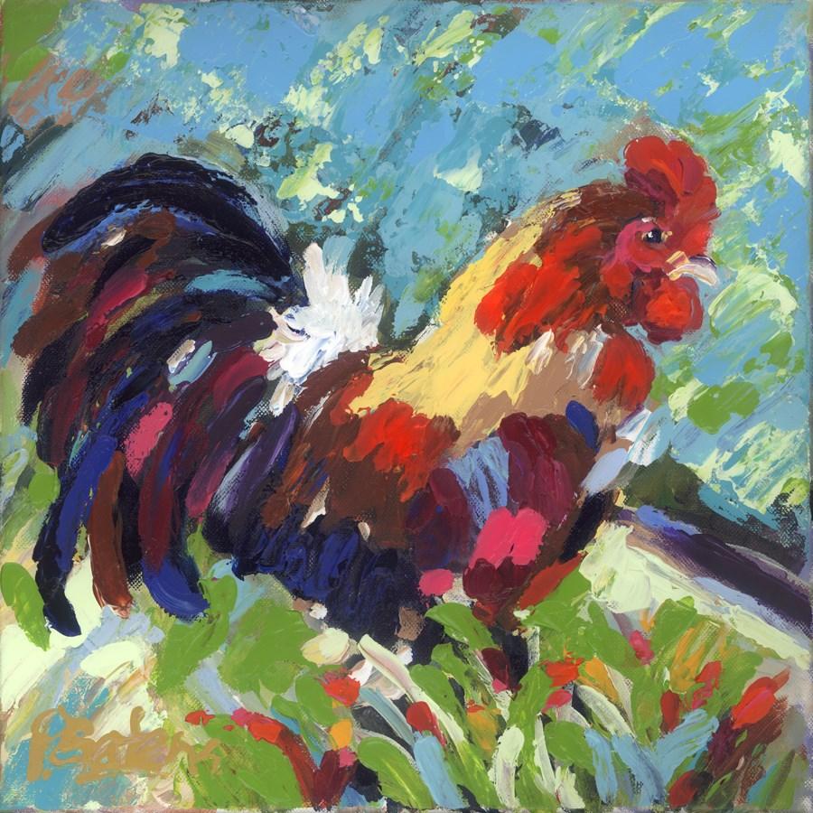 """""""Fancy Feathers"""" original fine art by Pamela Gatens"""