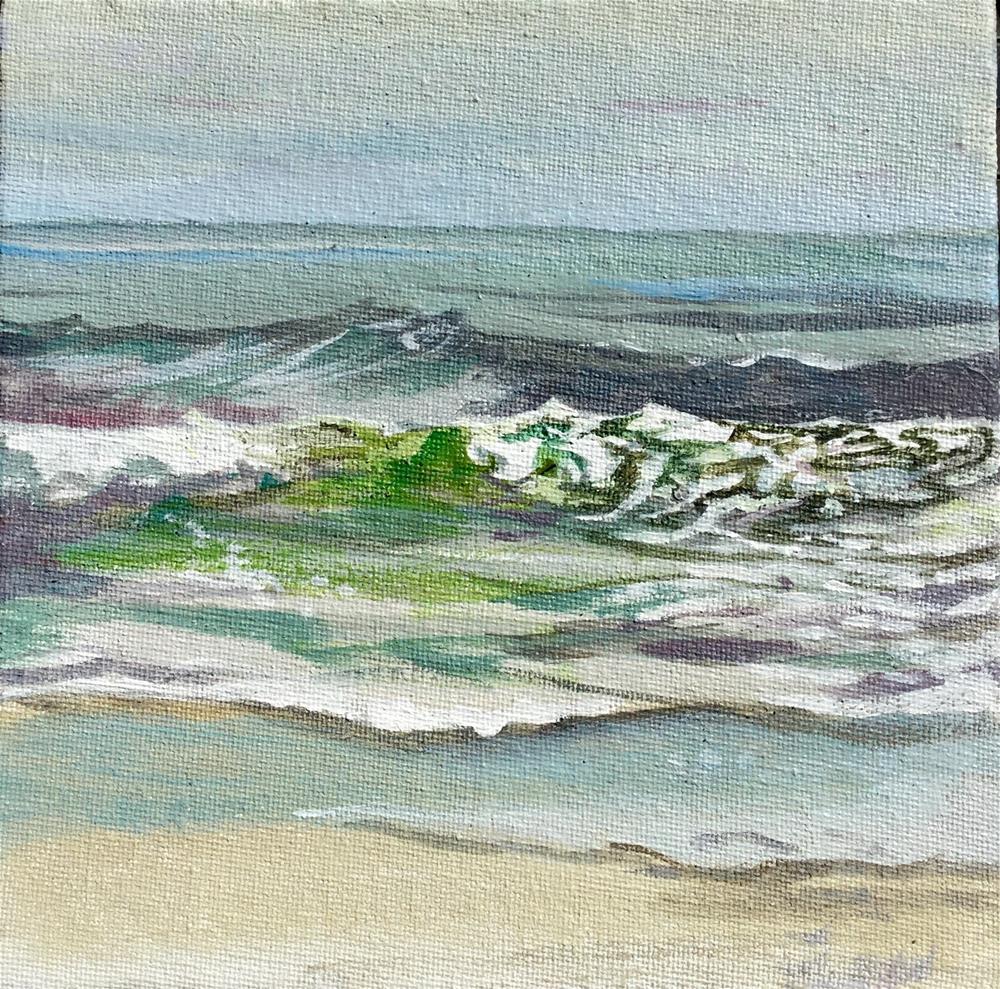 """""""Ocean City I"""" original fine art by Lauren Kuhn"""
