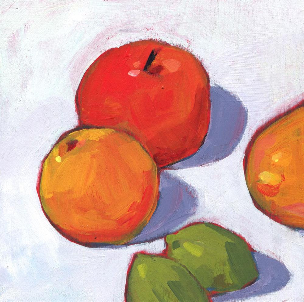 """""""0552: Fruit for Dinner"""" original fine art by Brian Miller"""