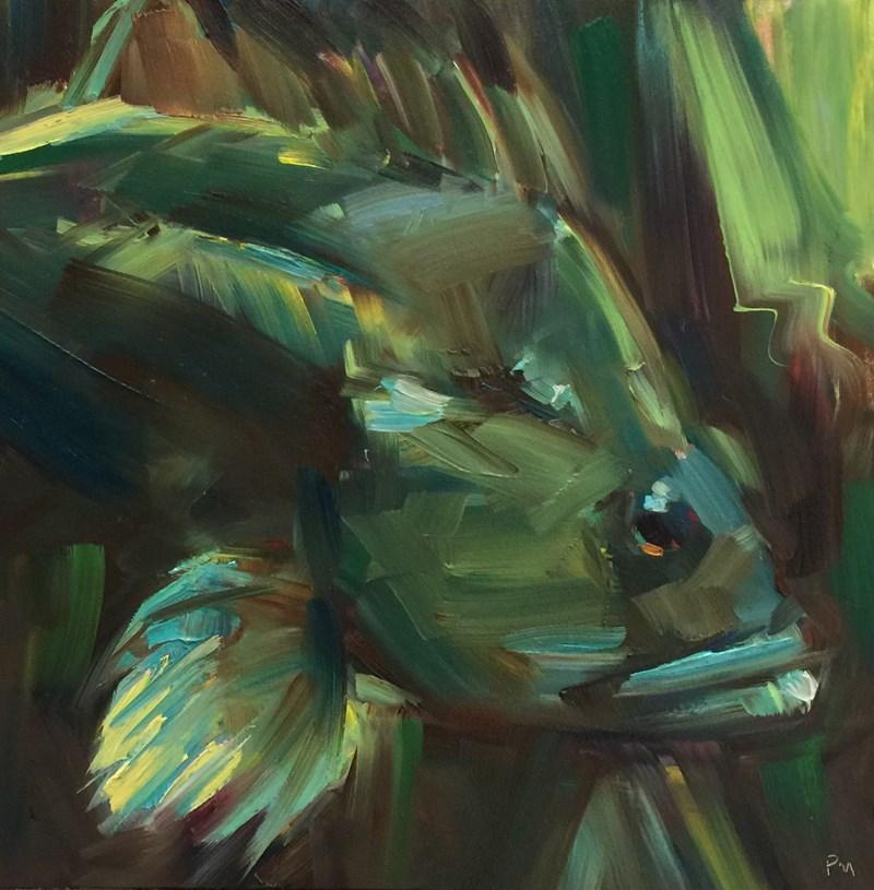 """CamoFish"" original fine art by Patti McNutt"