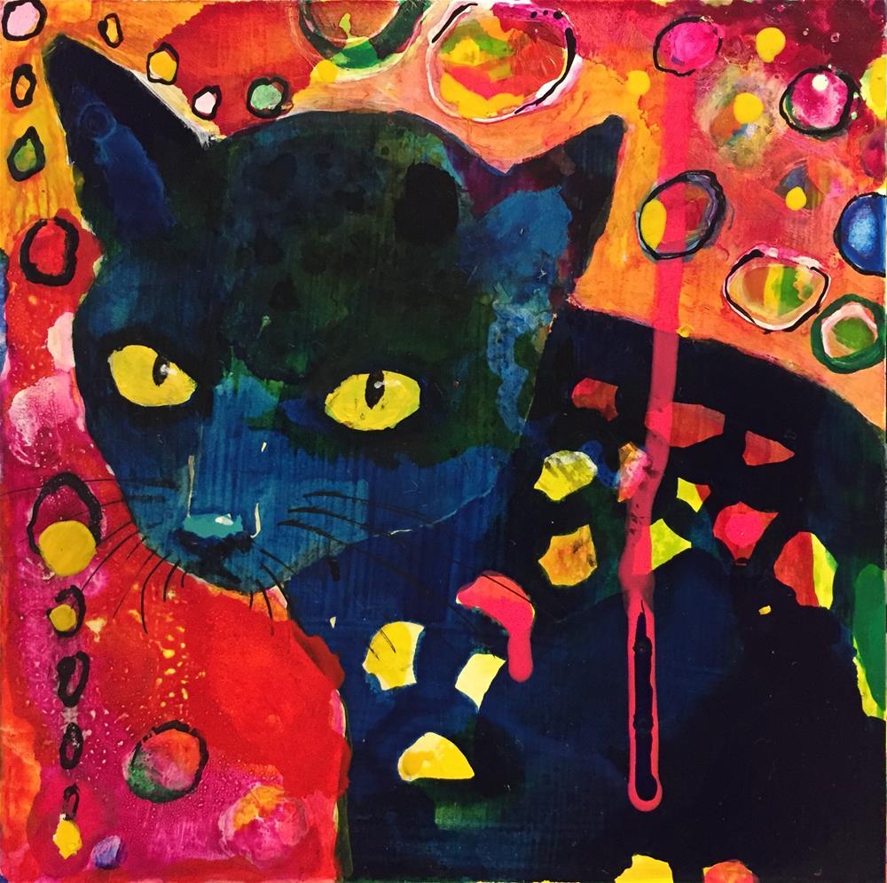 """""""#79 Nell"""" original fine art by Silke Powers"""