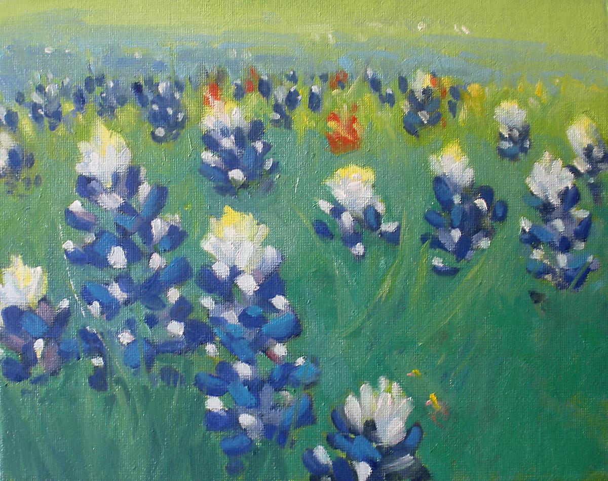 """""""Bonnets"""" original fine art by David Forks"""