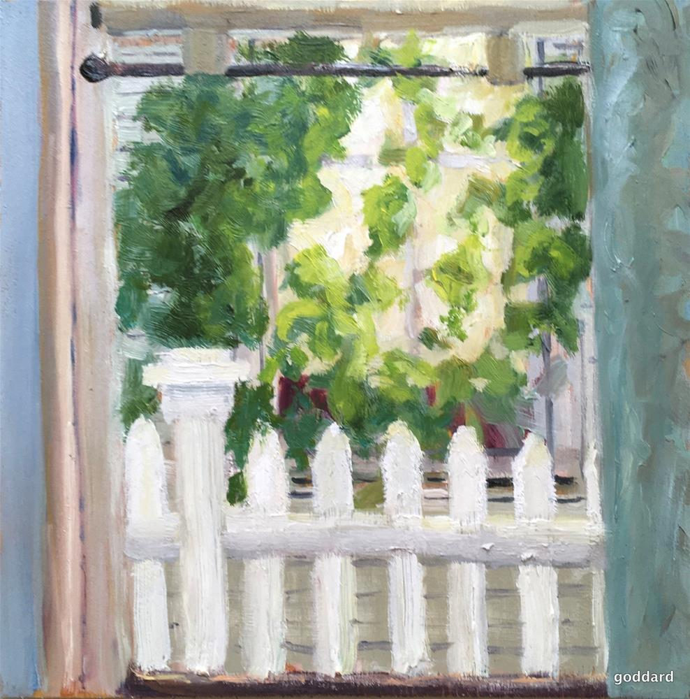 """Looking on the Bright Side"" original fine art by Shari Goddard Shambaugh"