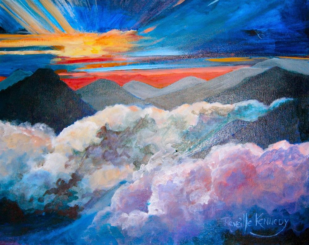"""""""SpectacularView From the Top"""" original fine art by Reveille Kennedy"""