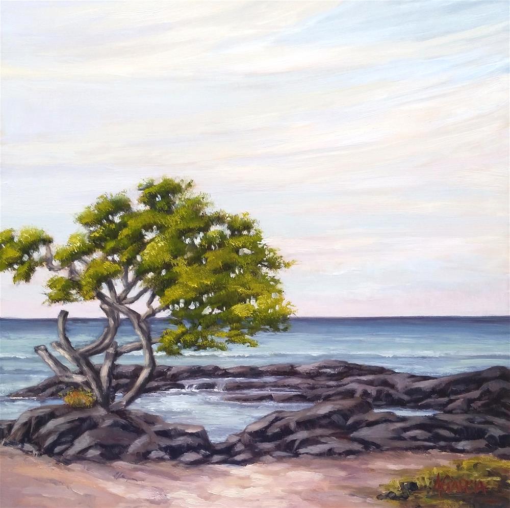 """Morning Clouds"" original fine art by Jeannie Garcia"