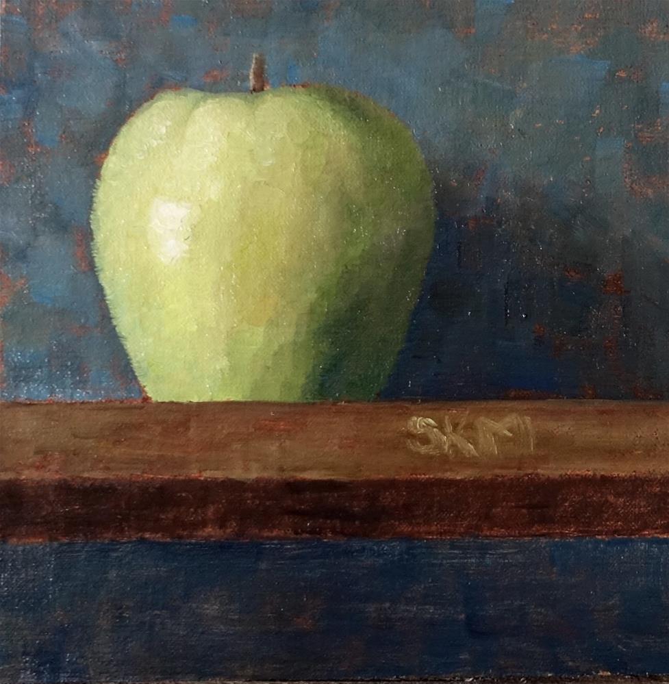 """the big apple"" original fine art by Sarah Meredith"