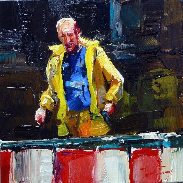 """on the site"" original fine art by Jurij Frey"