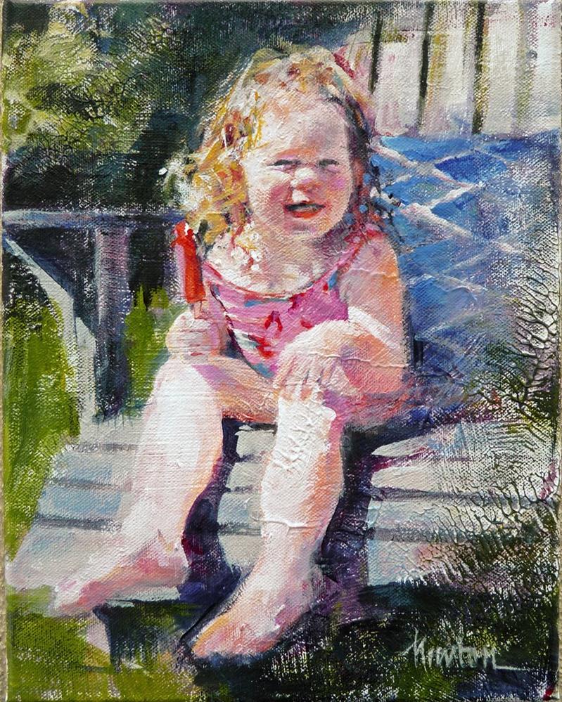 """""""Lola"""" original fine art by Barbara Benedetti Newton"""
