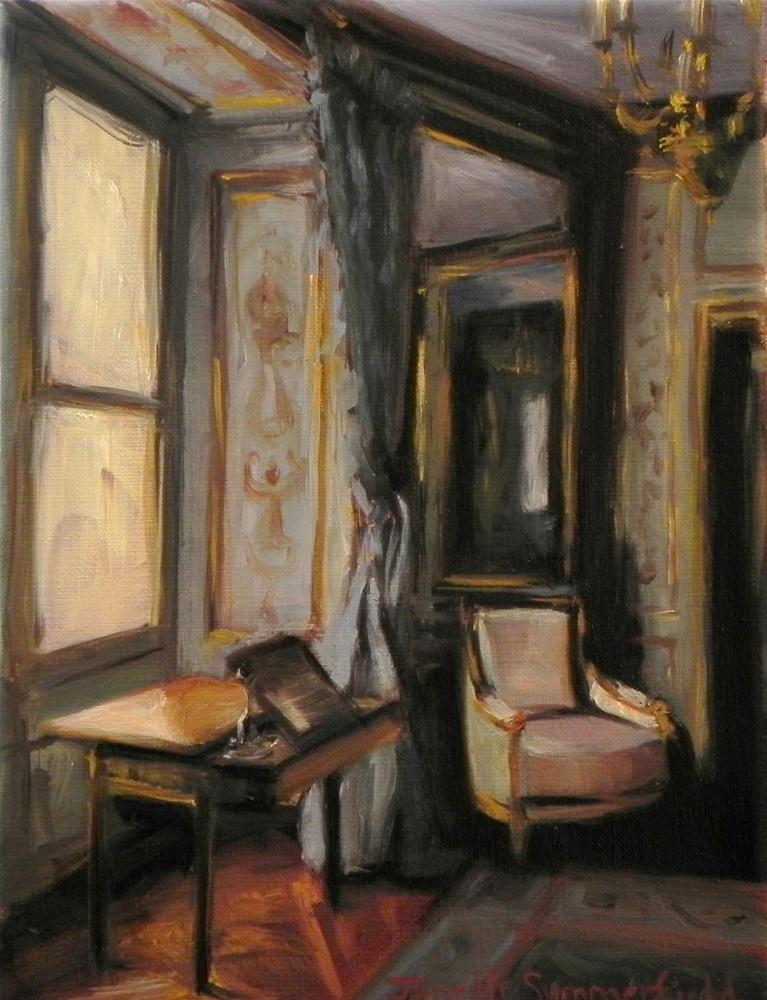 """""""Blue Room"""" original fine art by Jonelle Summerfield"""