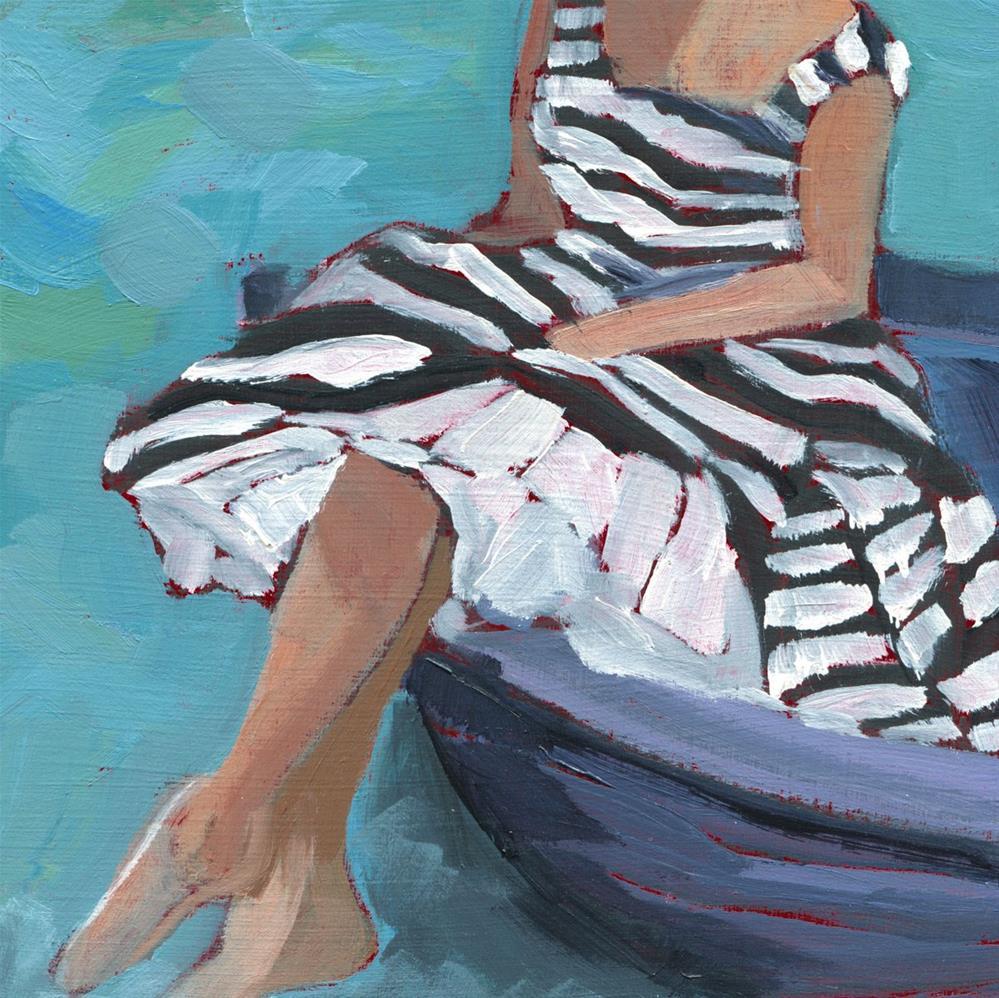 """""""Afloat (#472)"""" original fine art by Debbie Miller"""