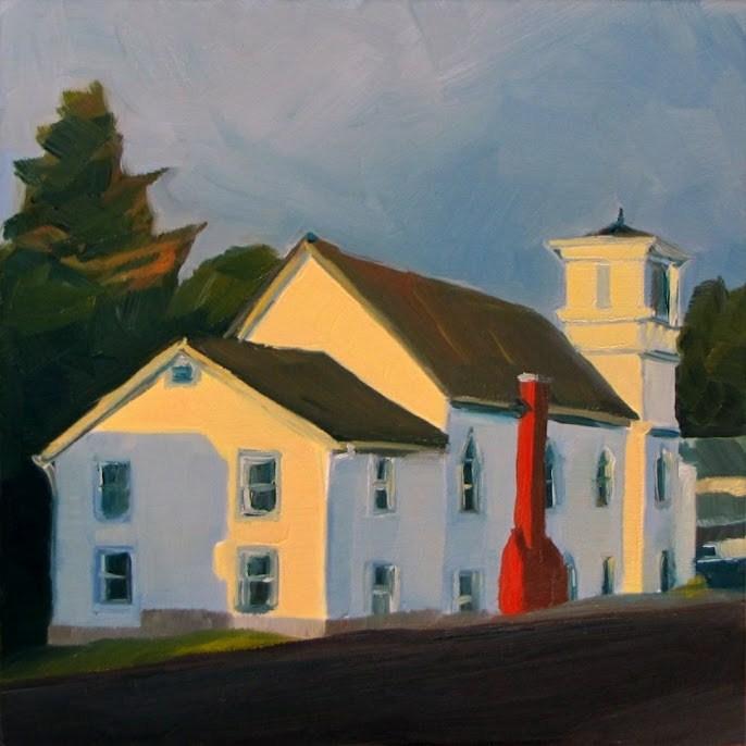 """Last Light"" original fine art by Nora Bergman"