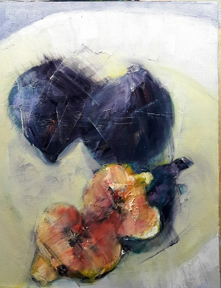 """Figalicious"" original fine art by Rentia Coetzee"
