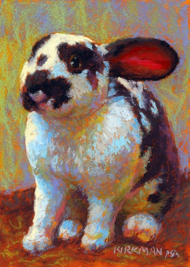 """""""Earnie"""" original fine art by Rita Kirkman"""