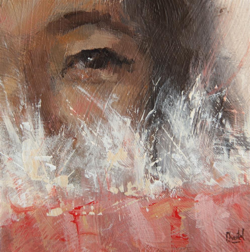 """Feathers"" original fine art by Chantel Barber"