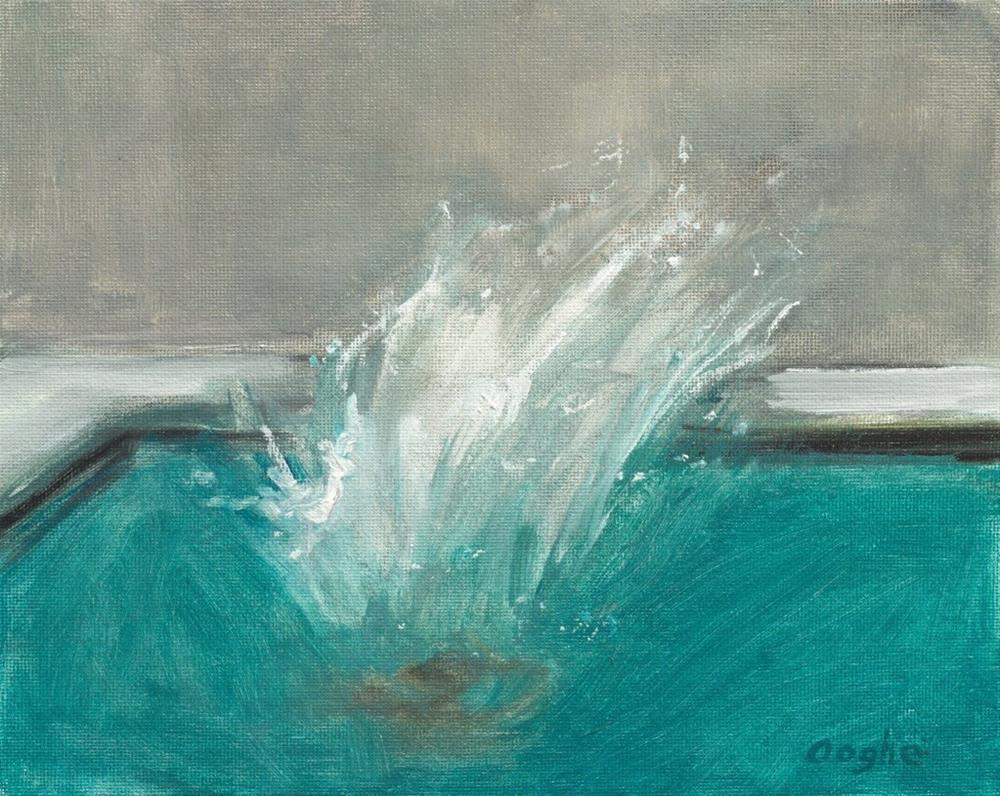 """""""Splash"""" original fine art by Angela Ooghe"""
