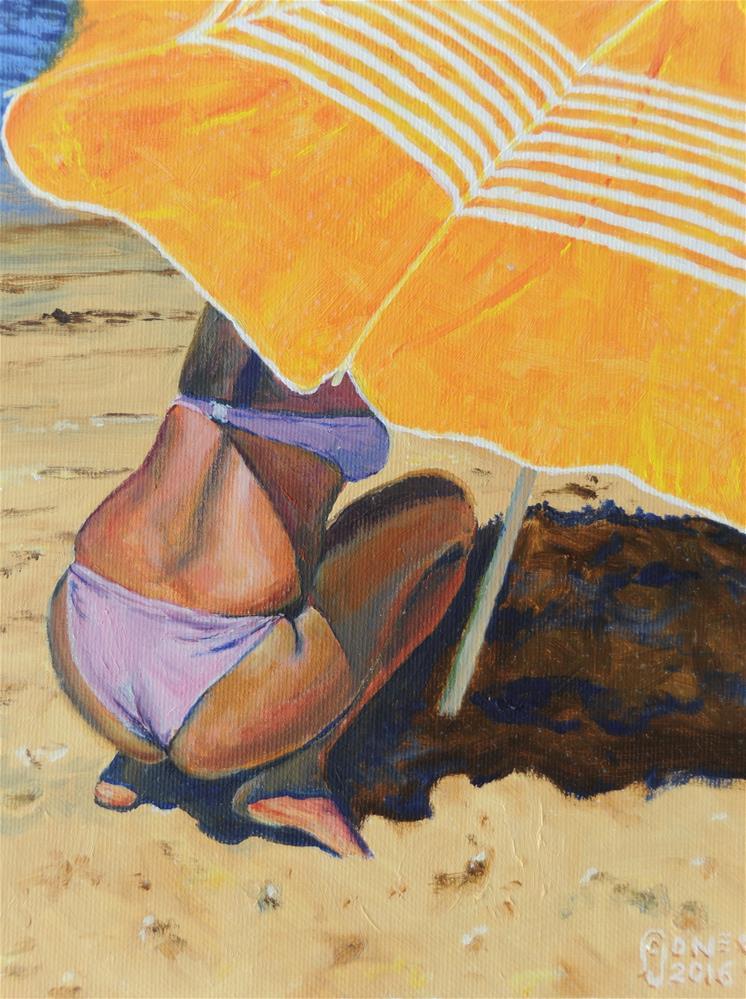 """""""Shade Seeker"""" original fine art by Fred Jones"""