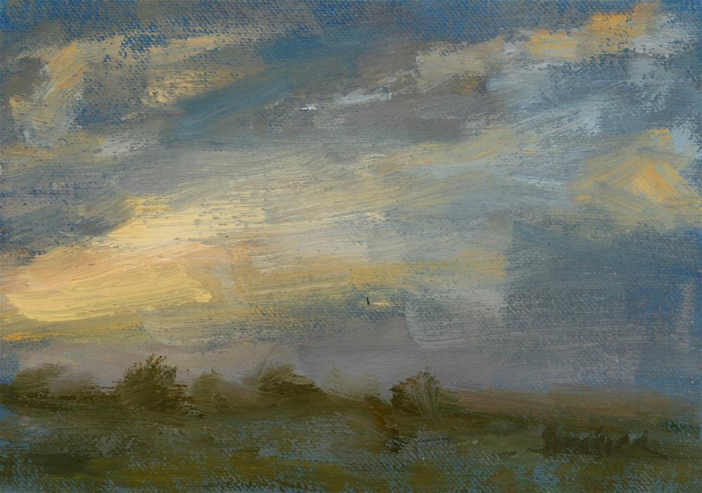 """Summer Sunrise 06"" original fine art by Scott Serafica"