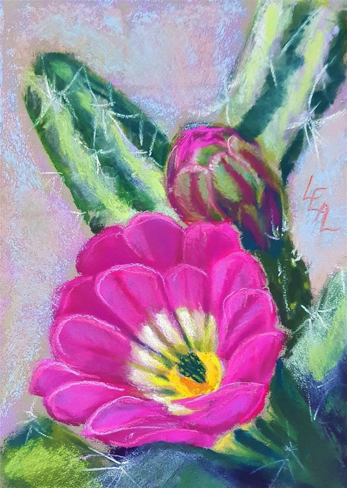 """Strawberry Sorbet"" original fine art by Anna Lisa Leal"