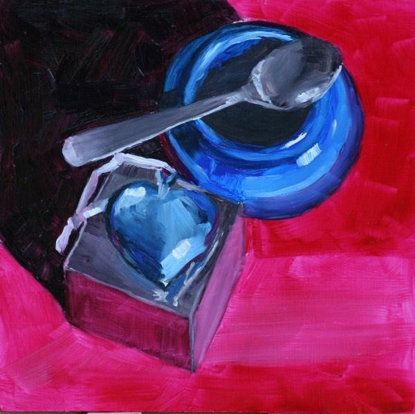 """Open Hearted"" original fine art by Aniko Makay"