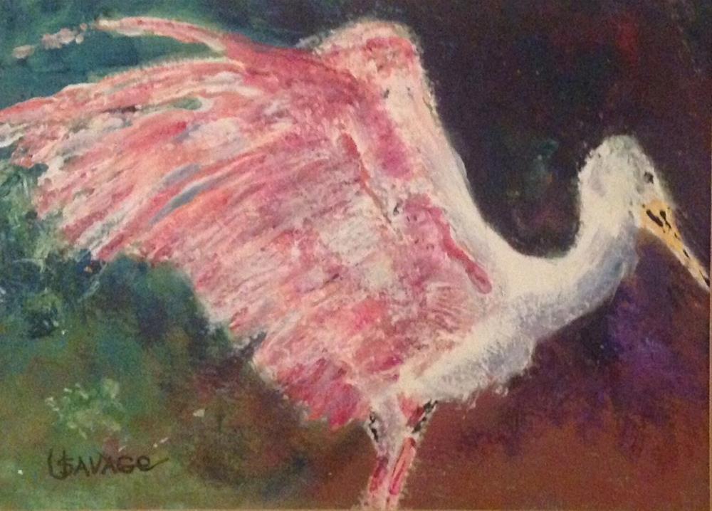 """""""Rosie"""" original fine art by Judy Usavage"""