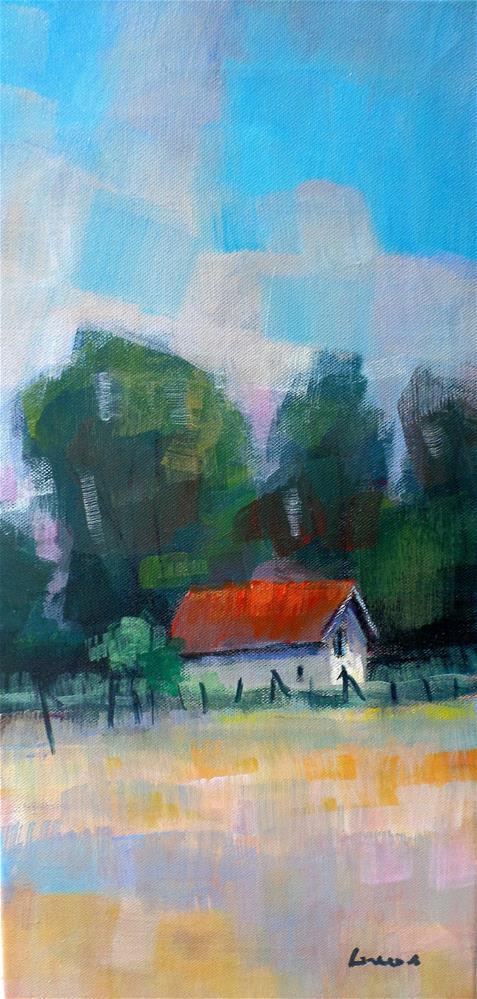 """""""SMALL HOUSE"""" original fine art by salvatore greco"""