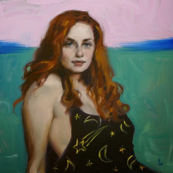 """Cosmic"" original fine art by John Larriva"