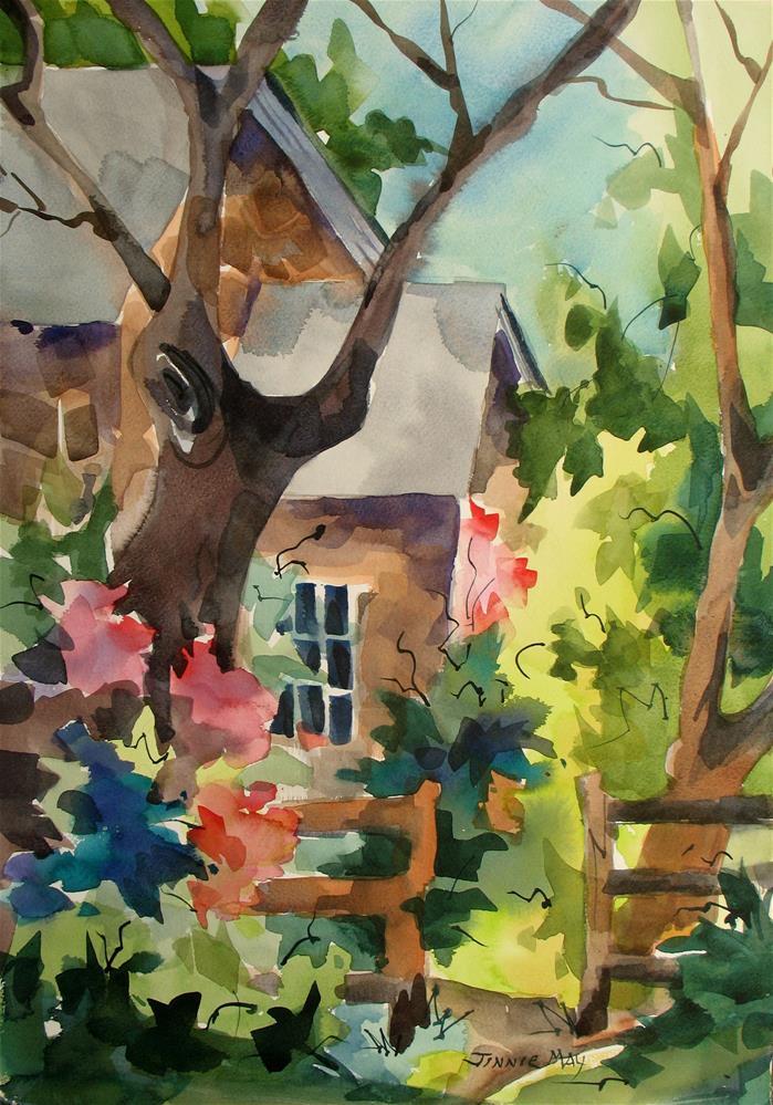 """Willowwood"" original fine art by Jinnie May"