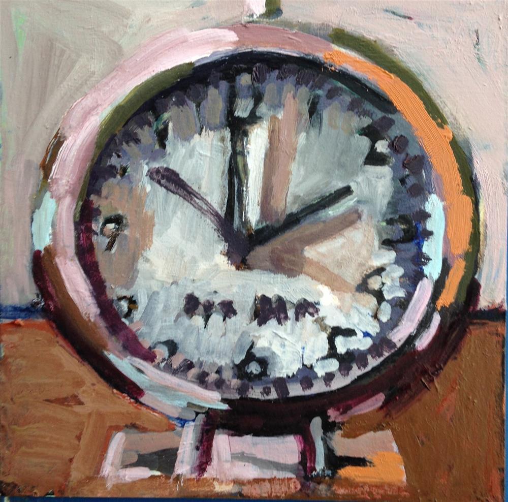 """Clockwork Orange"" original fine art by Pamela Hoffmeister"
