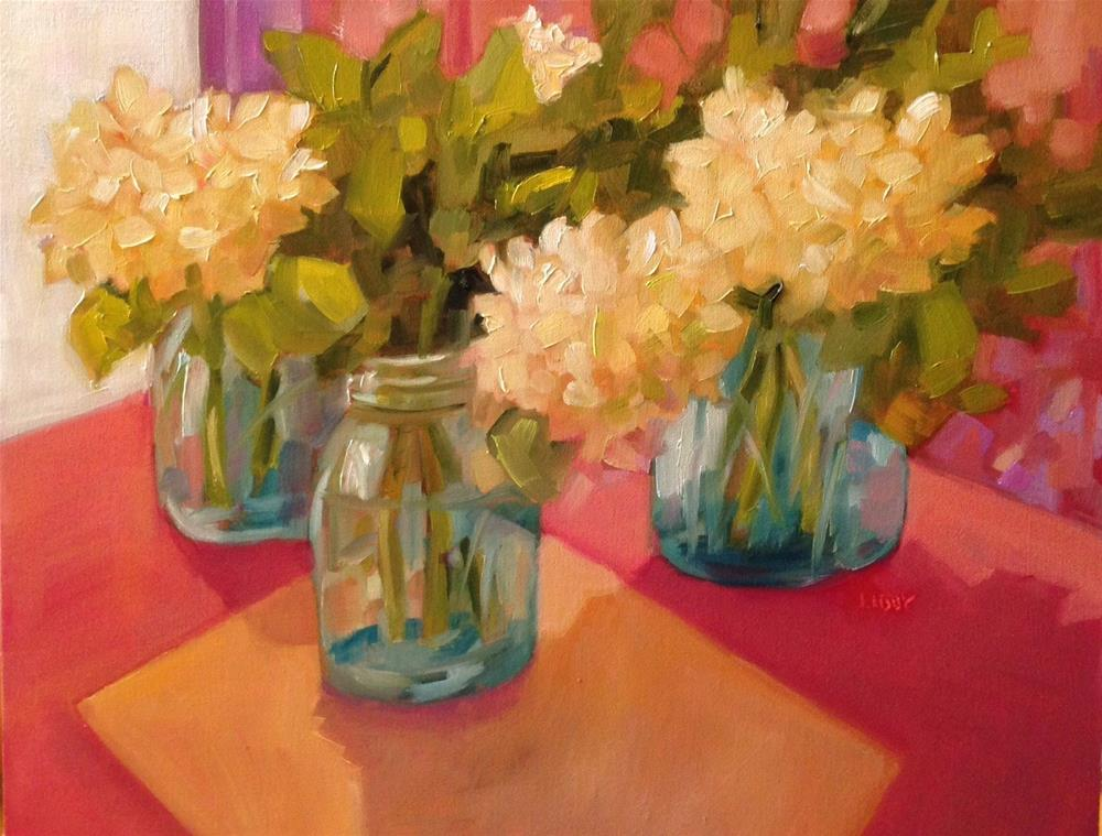 """""""Convention"""" original fine art by Libby Anderson"""