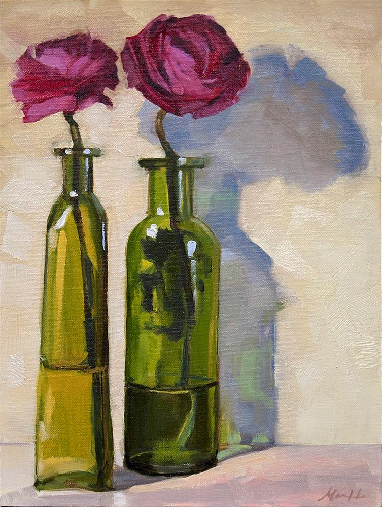 """Ranunculus"" original fine art by Miriam Hill"