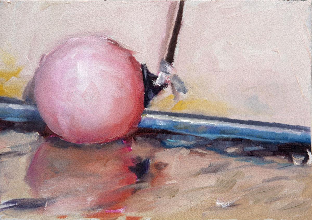 """""""Boat Buoy"""" original fine art by Clair Hartmann"""