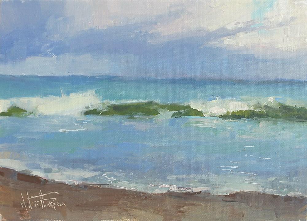 """Florida Shores"" original fine art by Melanie Thompson"