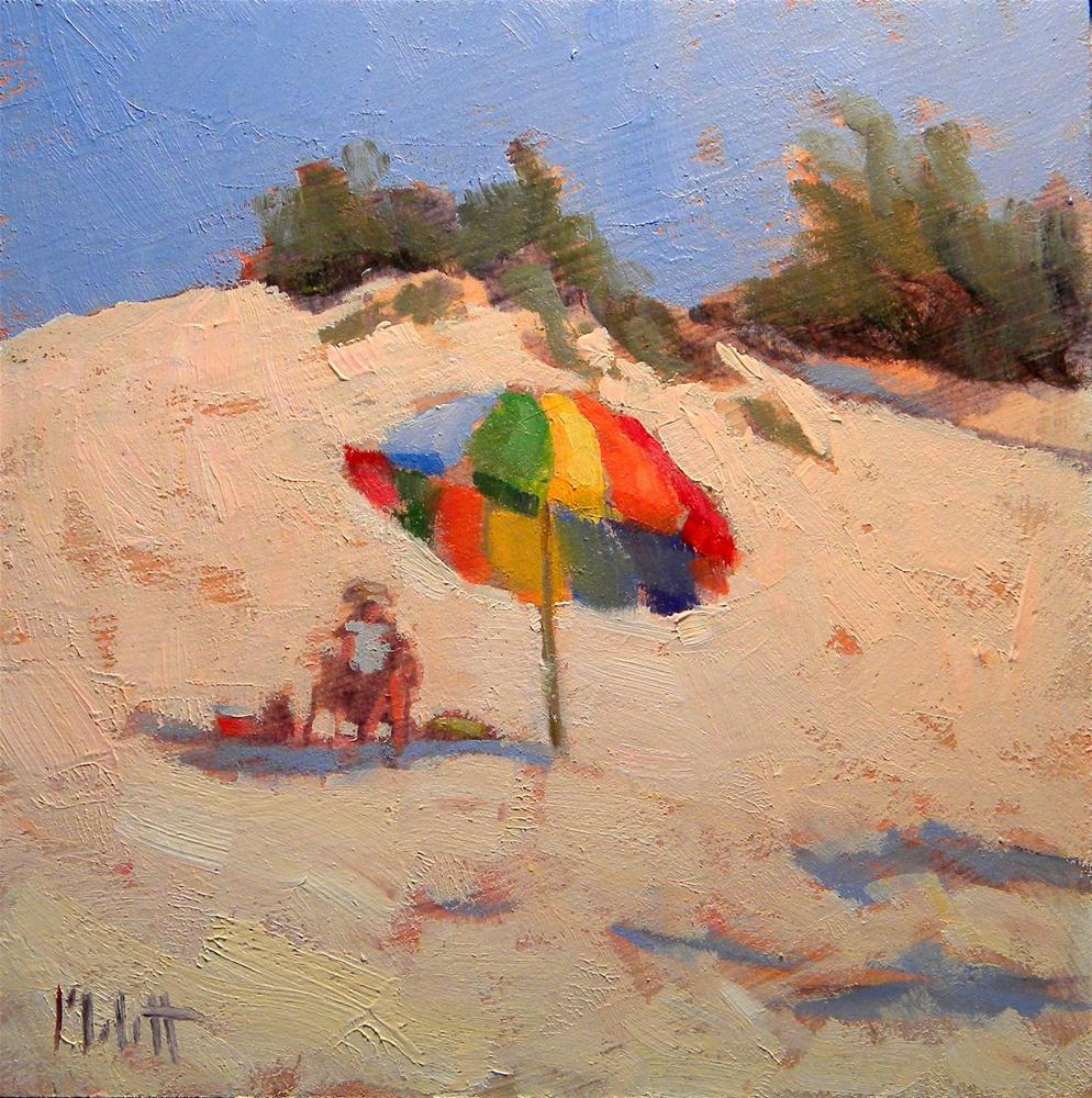 """The Perfect Spot"" original fine art by Heidi Malott"