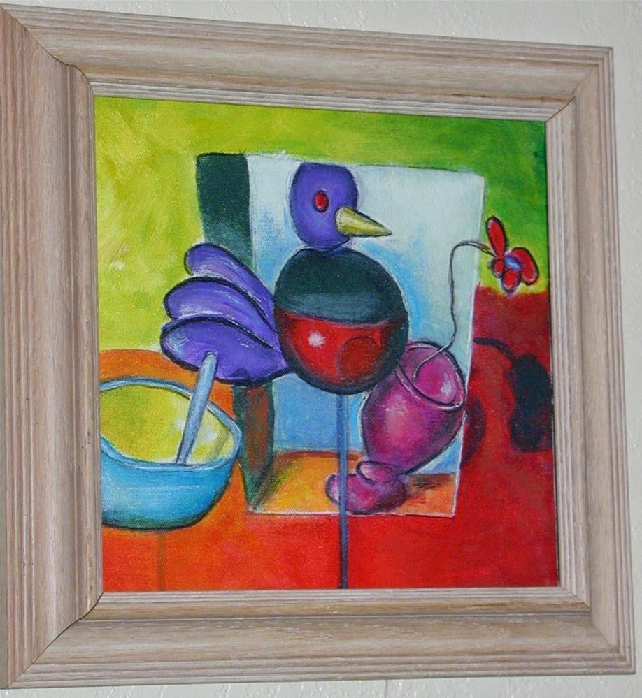 """Barbara's Toy Chest"" original fine art by Barbara Lemley"