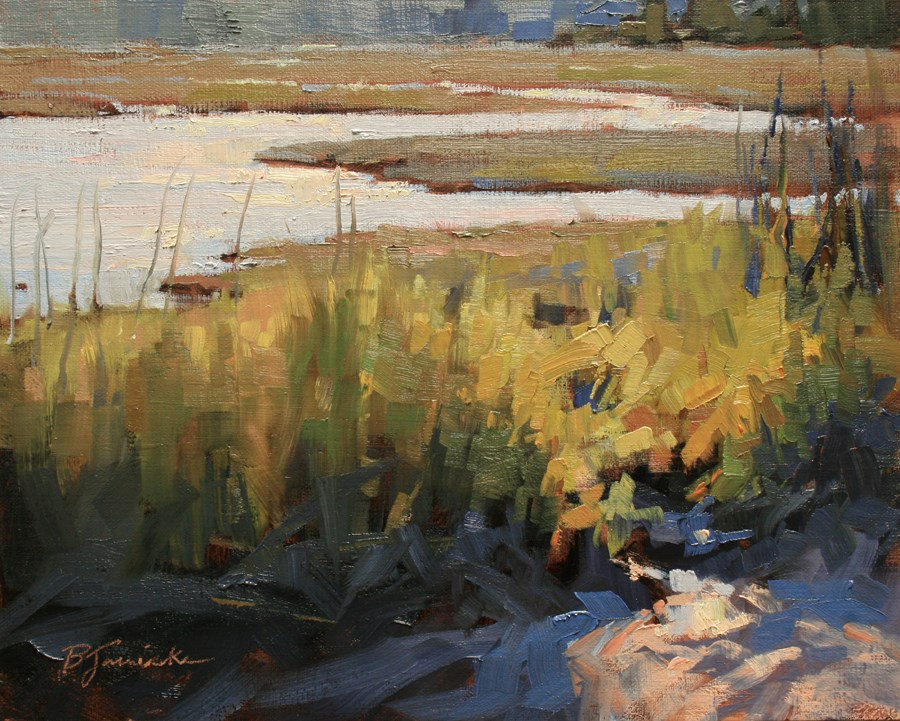 """Sunlit Entry"" original fine art by Barbara Jaenicke"
