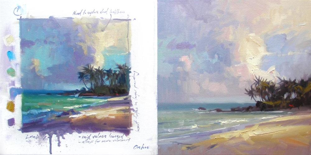"""Laniakea Studies"" original fine art by Richard Robinson"