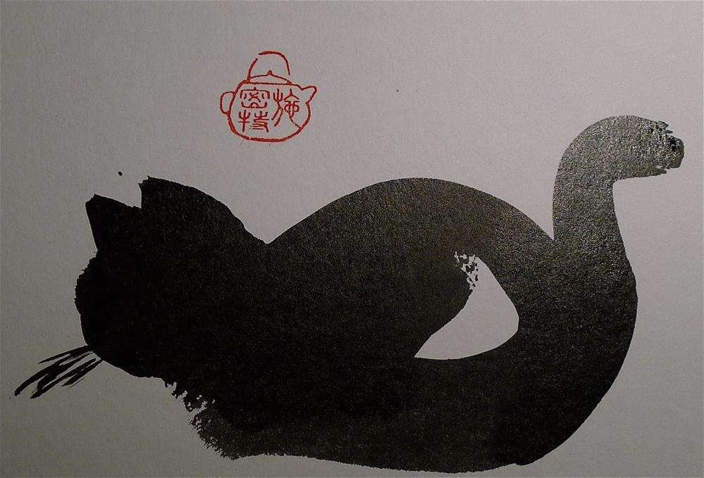 """watching the fly"" original fine art by Ulrike Schmidt"