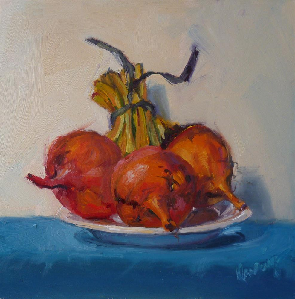 """""""Plated Up"""" original fine art by Sharman Owings"""