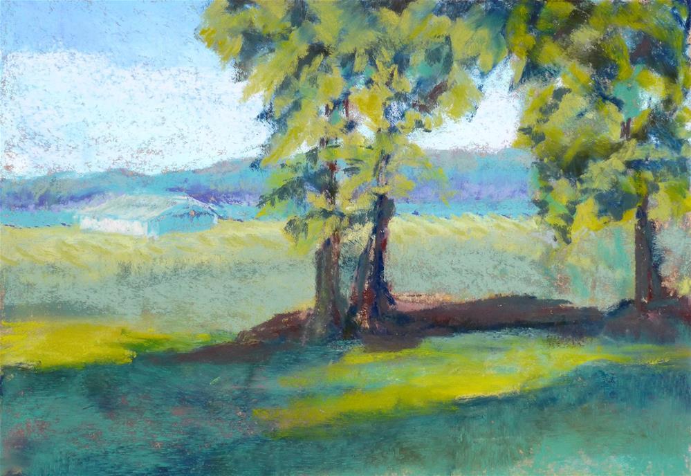 """Mt. Vernon Backroad"" original fine art by Mary Weil"