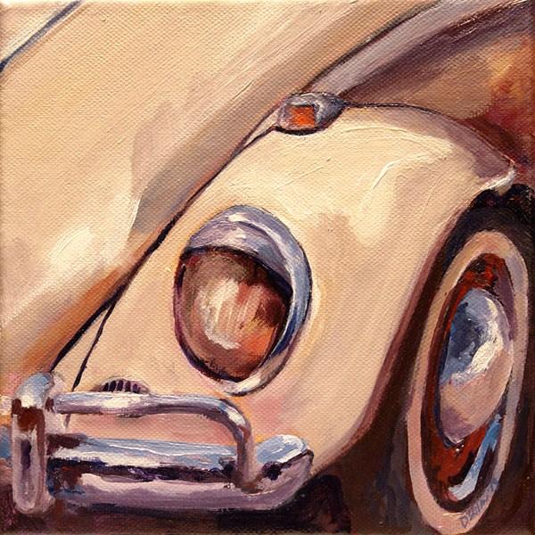 """""""0555 Bug's Face"""" original fine art by Dietmar Stiller"""